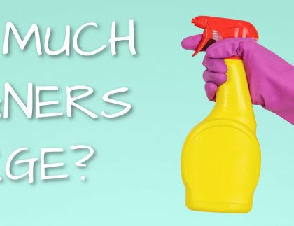 Average Hourly Rate For House Cleaning UK