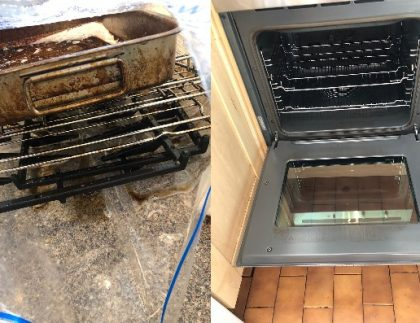 Deep cleaning oven & grill London